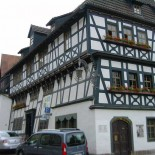 Eisenach: maison de Luther